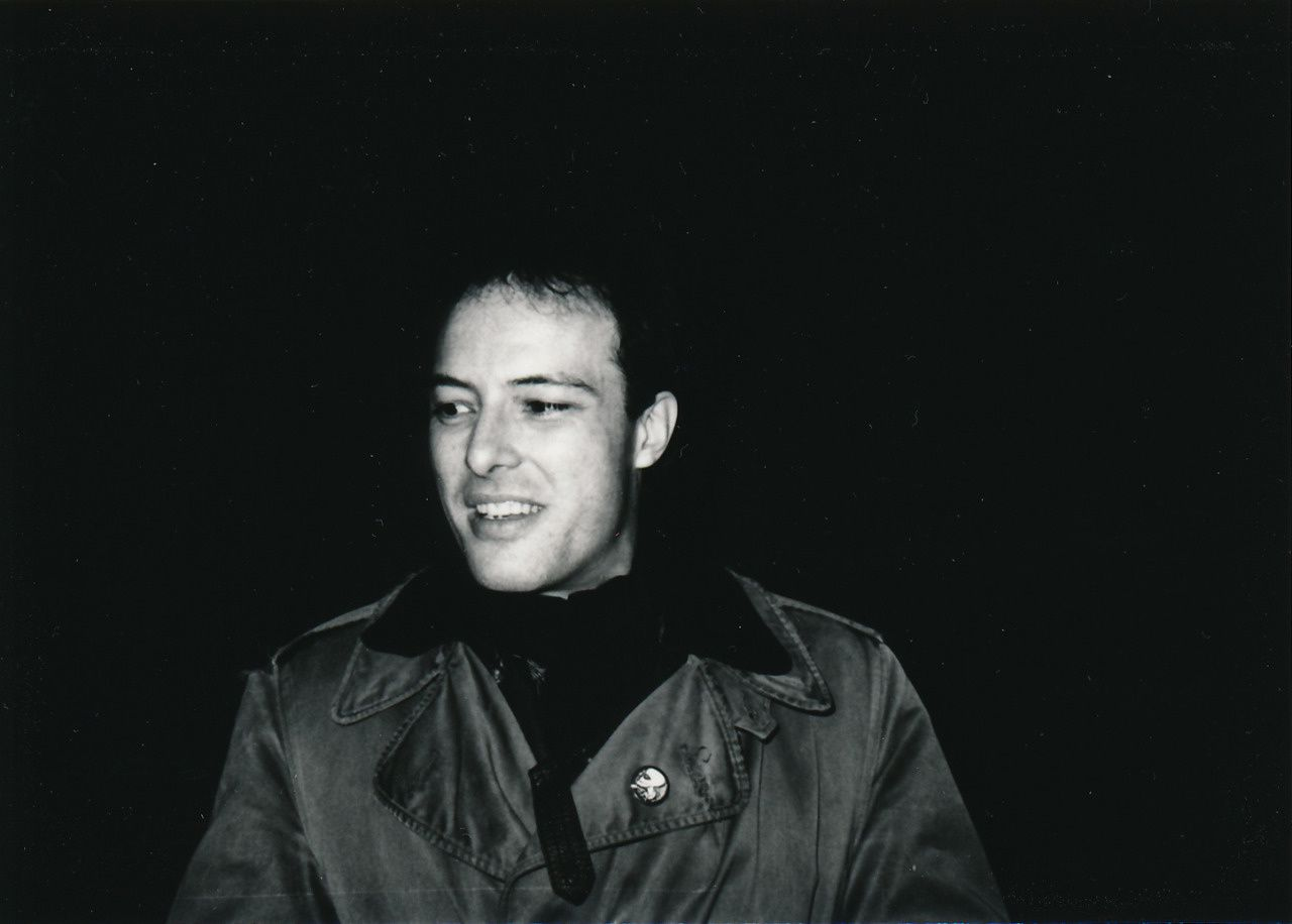 Jello Biafra, 1988 - Photograph by Marc Fischer