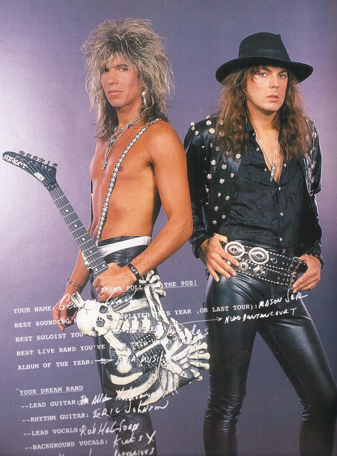 Don Dokken & George Lynch (Dokken)