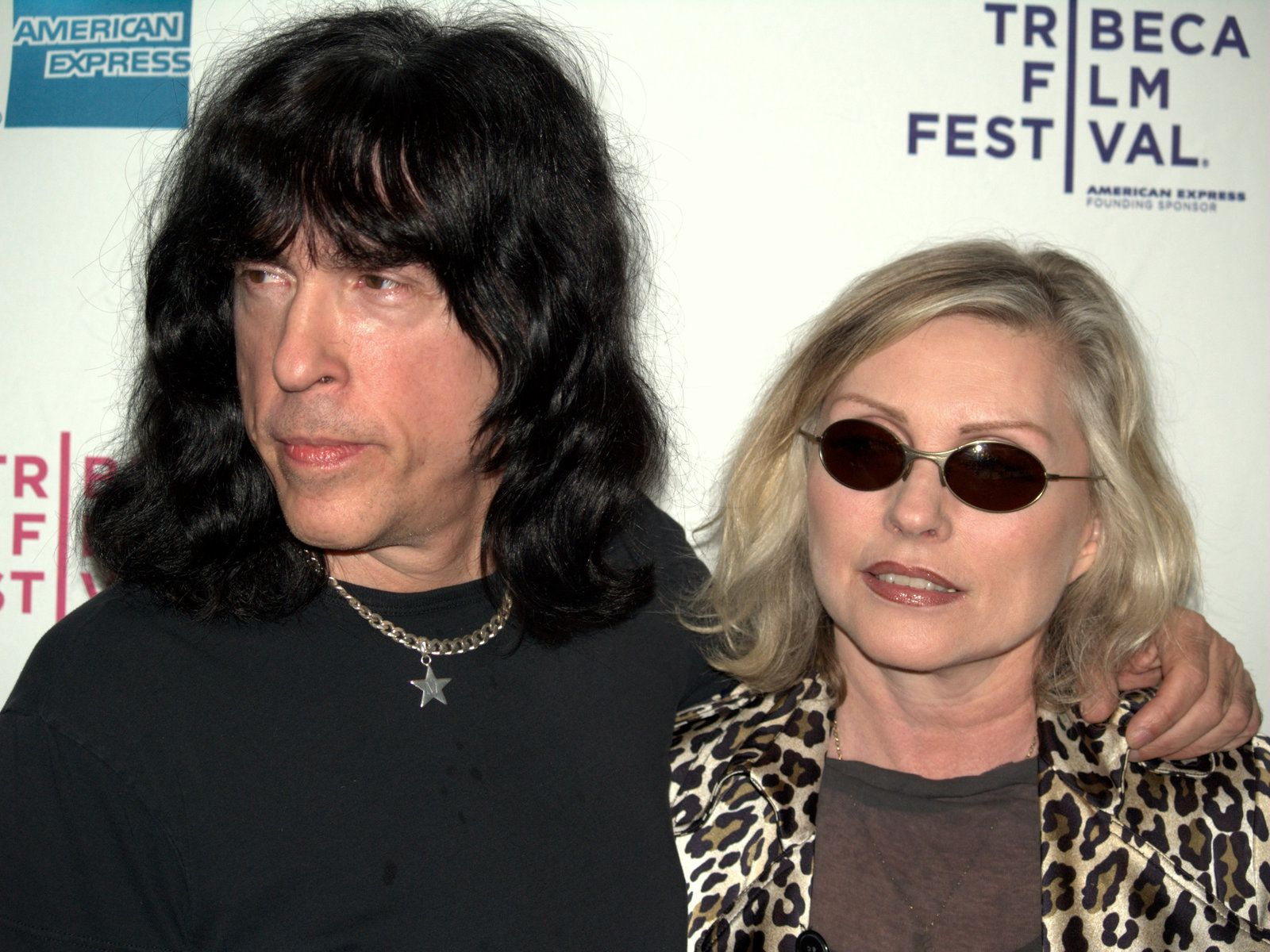 Marky Ramone and Debbie Harry at the 2009 Tribeca Film Festival