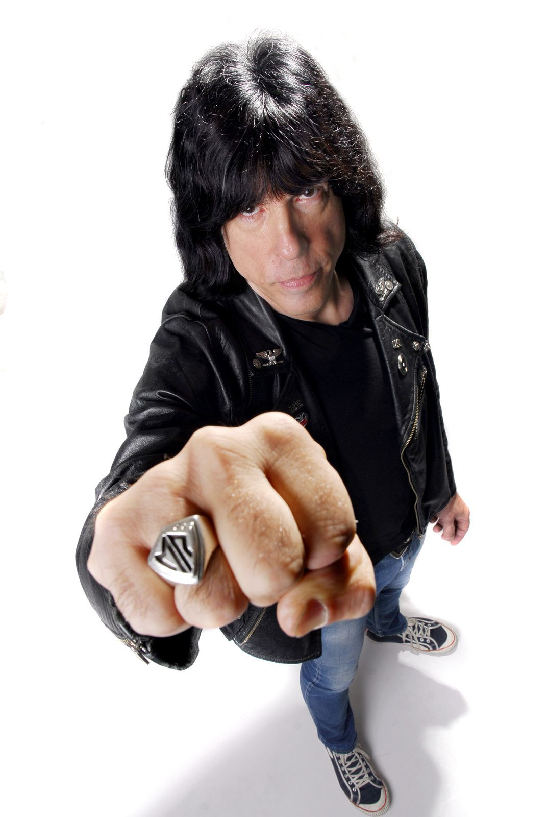Marky Ramone of Marky Ramone's Blitzkrieg and formerly of bands such as the Ramones, Dust, Wayne County and Richard Hell and the Voidoids (2011)