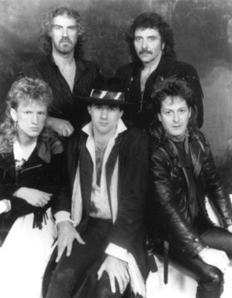 Terry Chimes and Black Sabbath (1986)