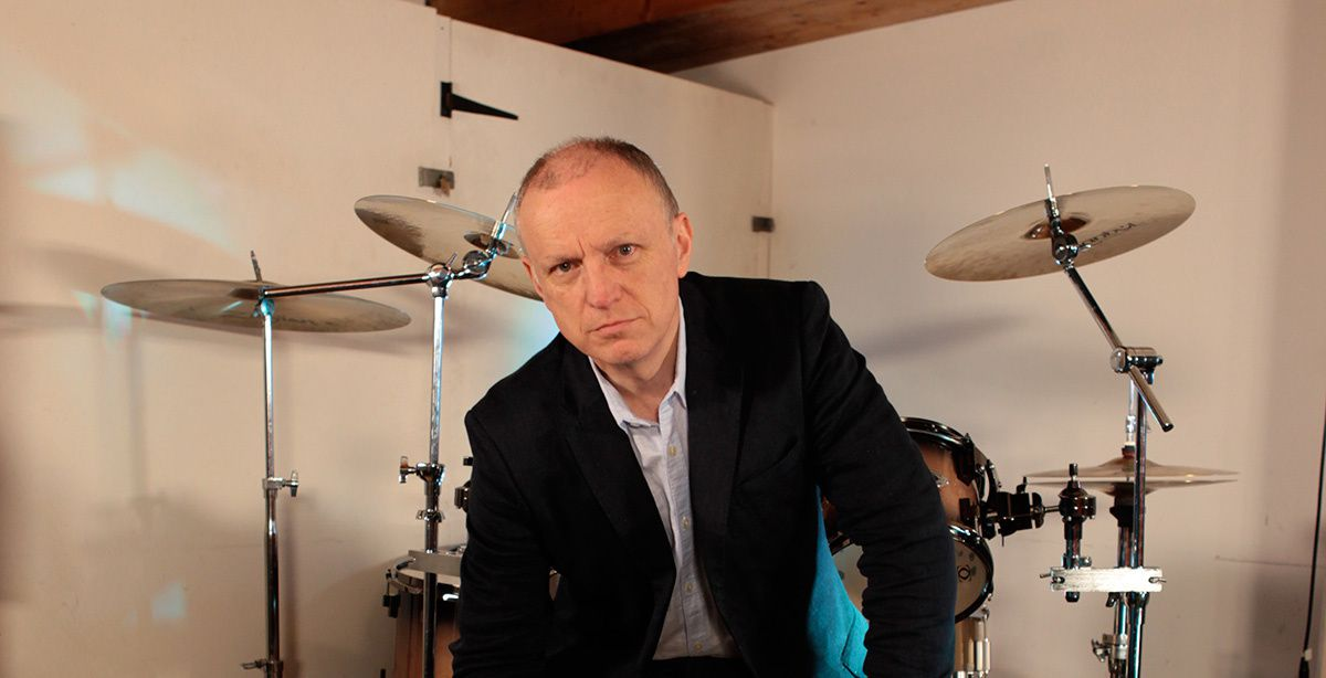 Terry Chimes, original drummer of punk rock group The Clash