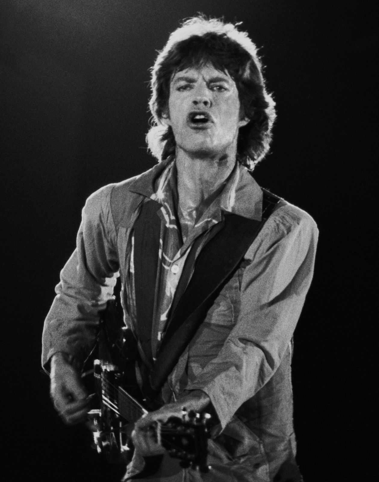 Mick Jagger, The Rolling Stones (Torino, 1982)