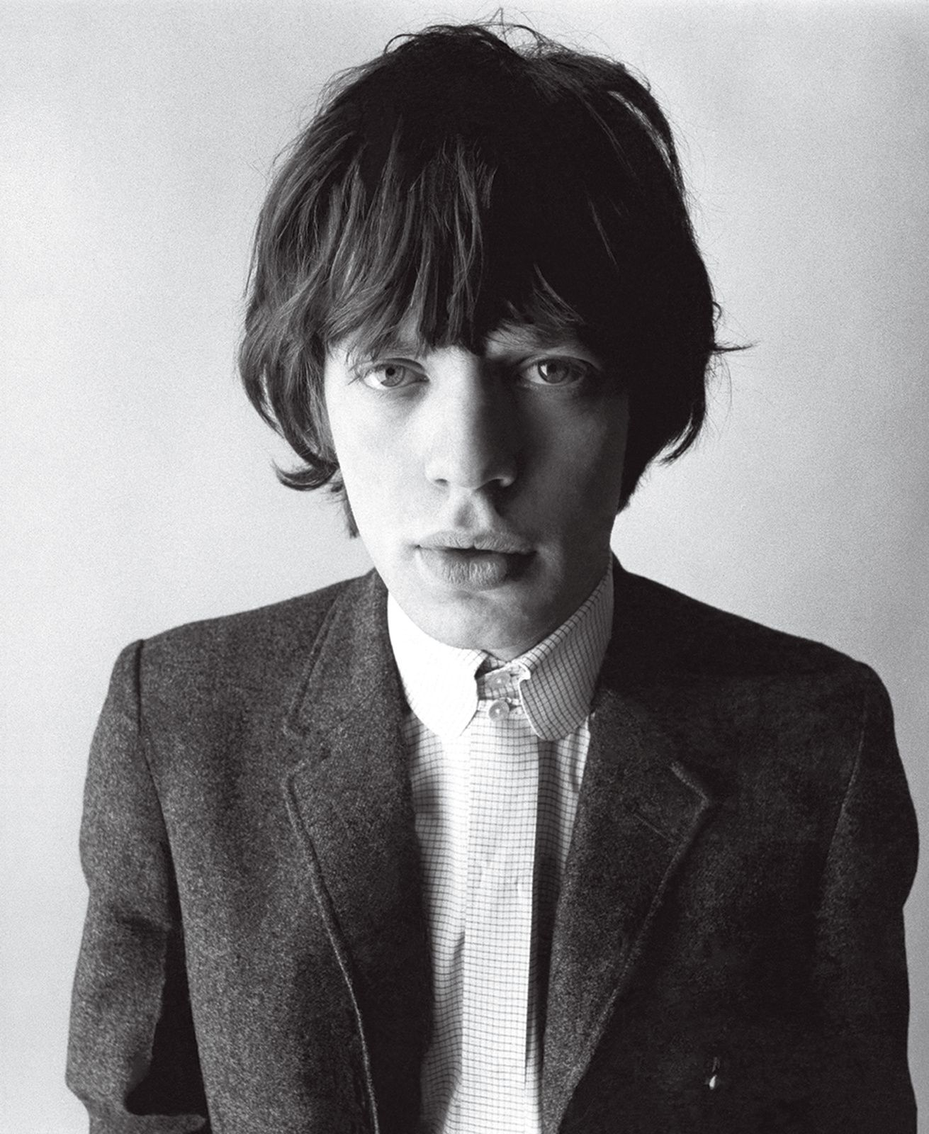 Mick Jagger, The Rolling Stones - Photographed by David Bailey, Vogue, July 1, 1964