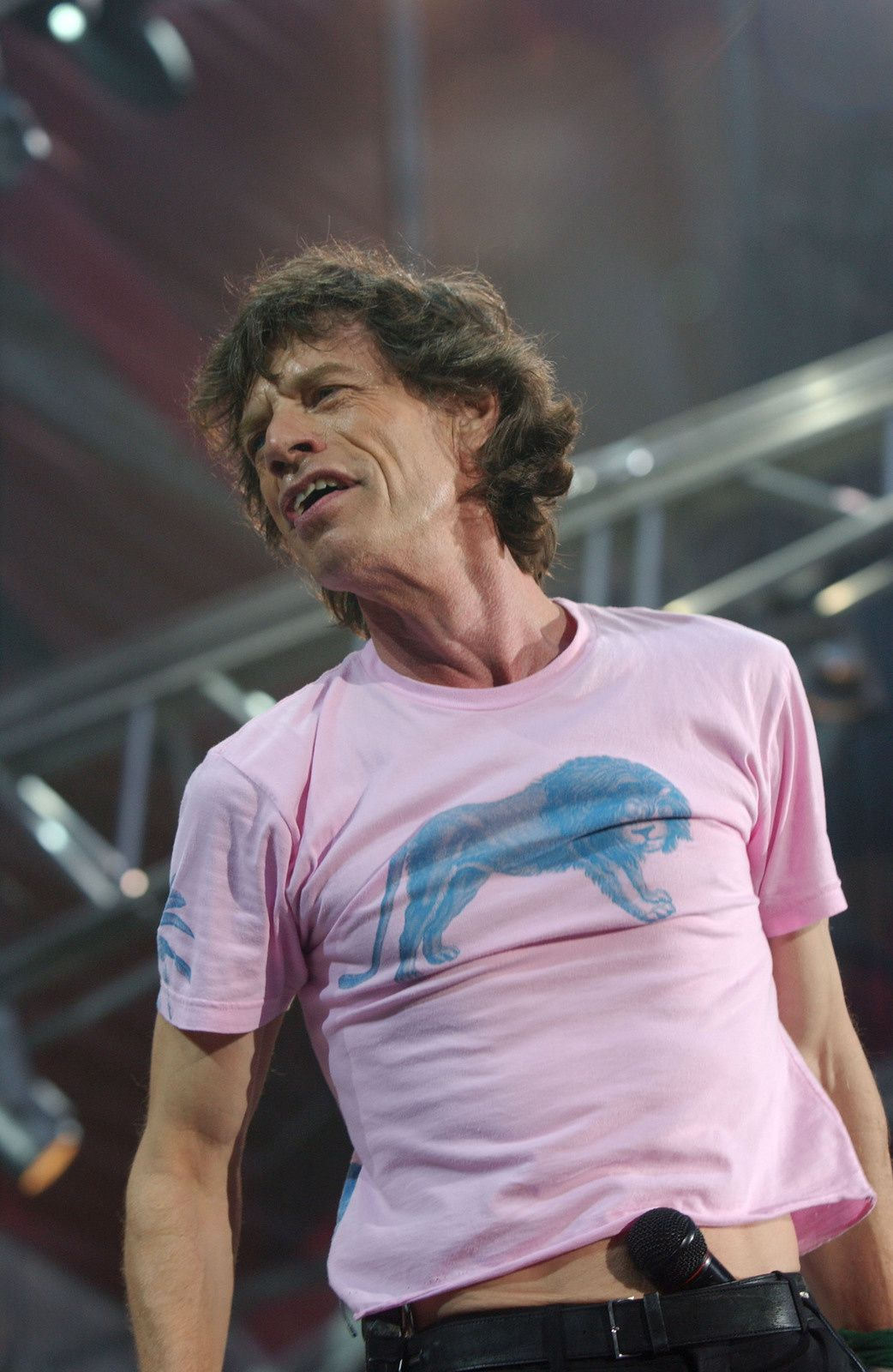 Mick Jagger, The Rolling Stones (live in Italy, 2003)