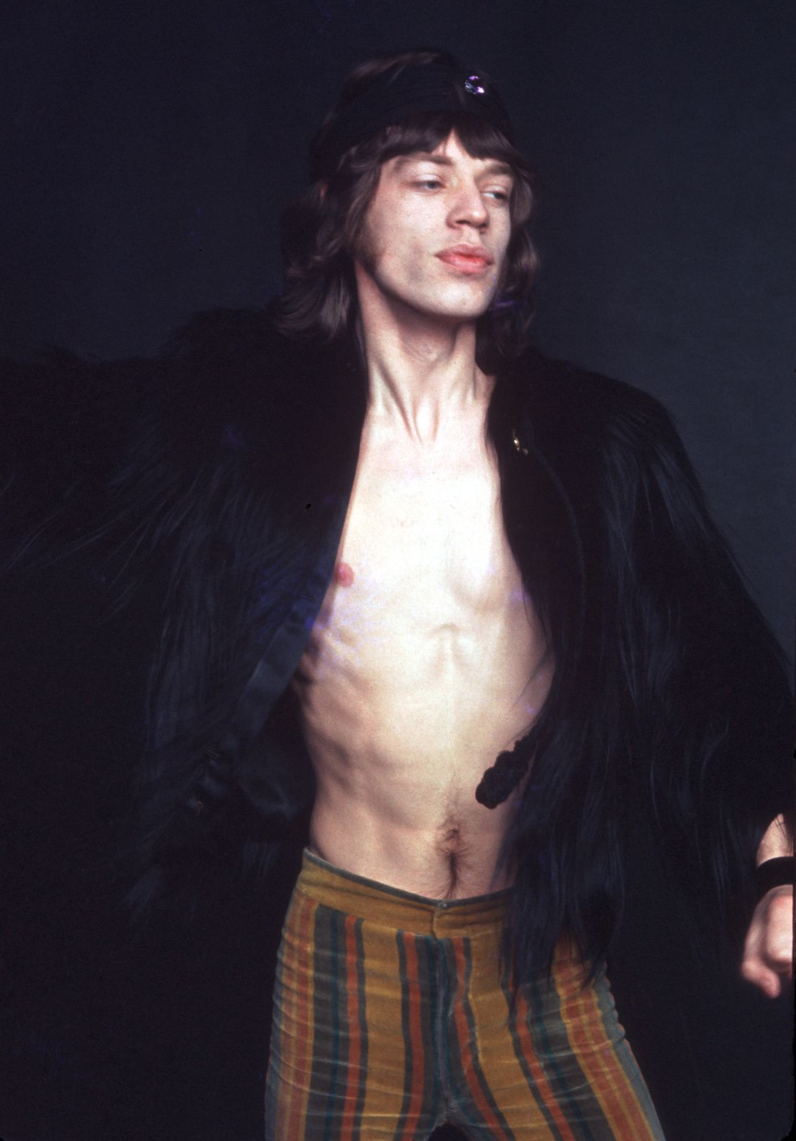 Mick Jagger, The Rolling Stones (1969) - Photo by Michael Ochs Archives/Getty Images