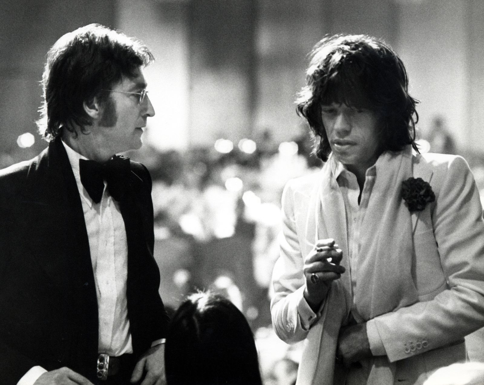 John Lennon and Mick Jagger (Los Angeles, 1974)