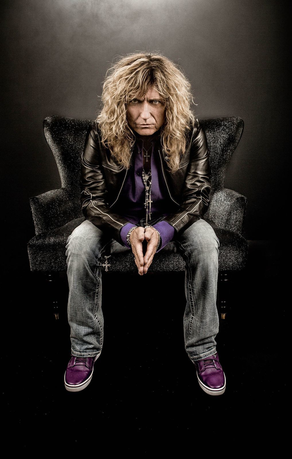 David Coverdale, Whitesnake (2014) - credit: Ash Newell