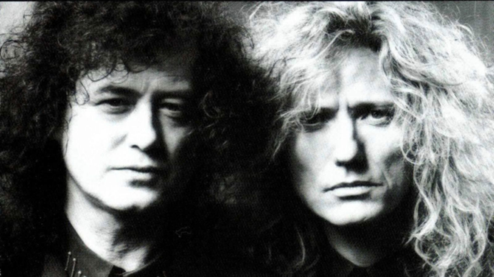 David Coverdale and Jimmy Page (1992)