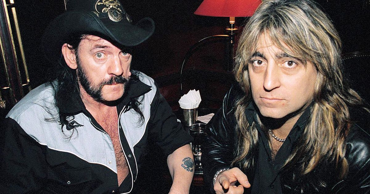 Lemmy with Mikkey Dee, Motorhead