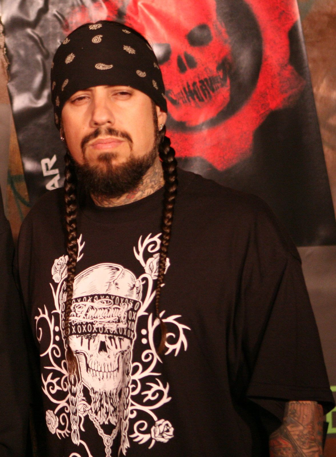 Reginald Arvizu, bassist for the nu metal band Korn, and guitarist for the hard rock band StillWell
