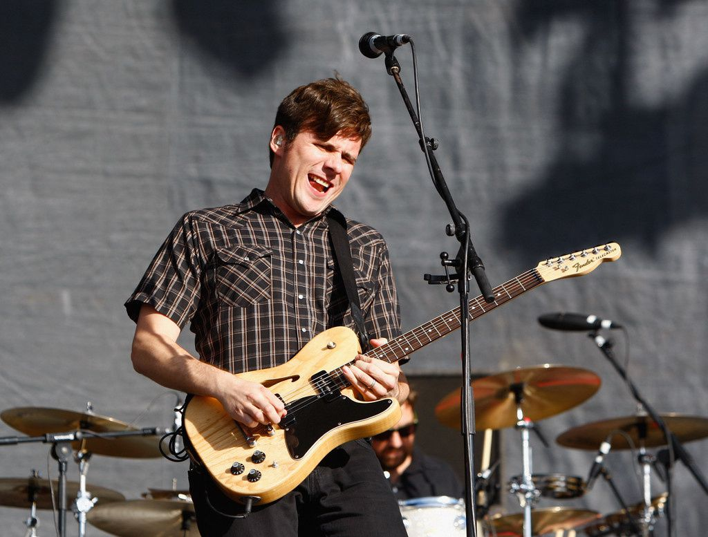Jim Adkins, Jimmy Eat World - Reading Festival 2011 on August 27, 2011 in Reading, England