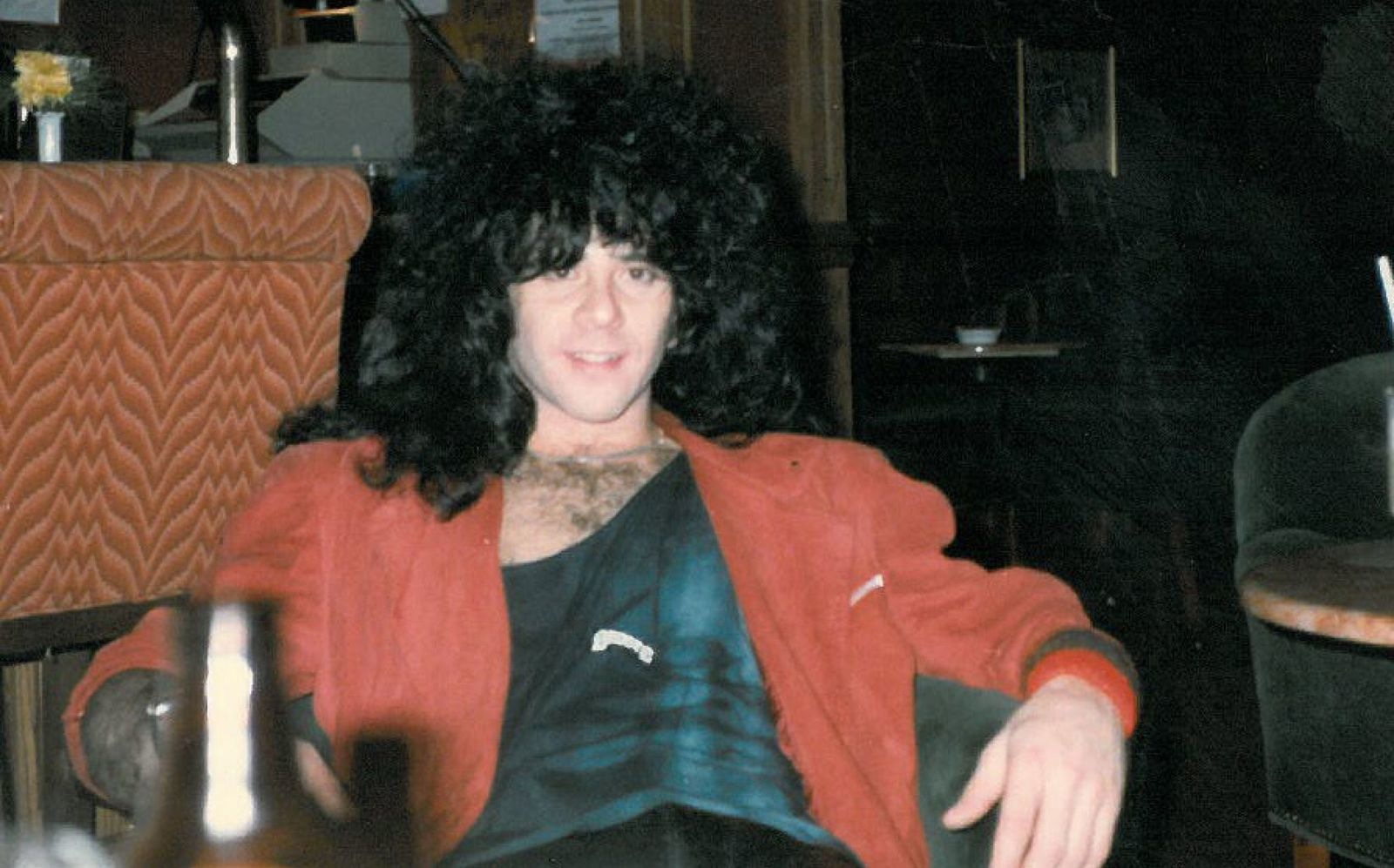 Eric Carr, drummer for the rock band Kiss from 1980 to 1991