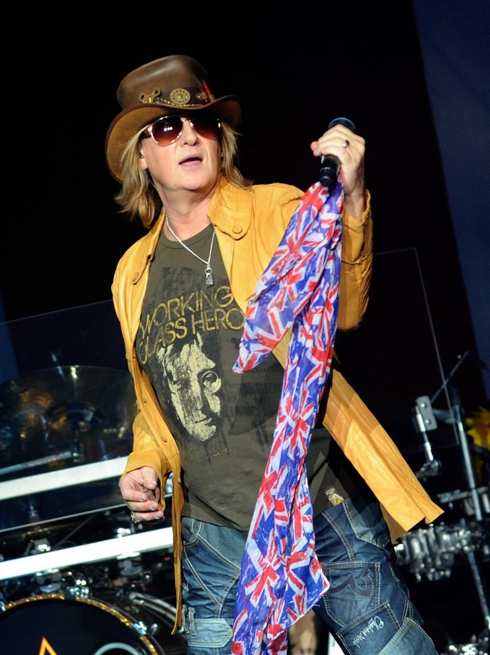 Joe Elliott, Def Leppard - Las Vegas, NV - March 22 2013 - Photo by David Becker - Getty
