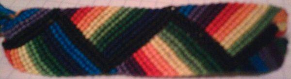 Bracelets Brésiliens - Niveau 8 - Modèle 6