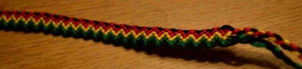 Bracelets Brésiliens - Niveau 2 - Modèle 5