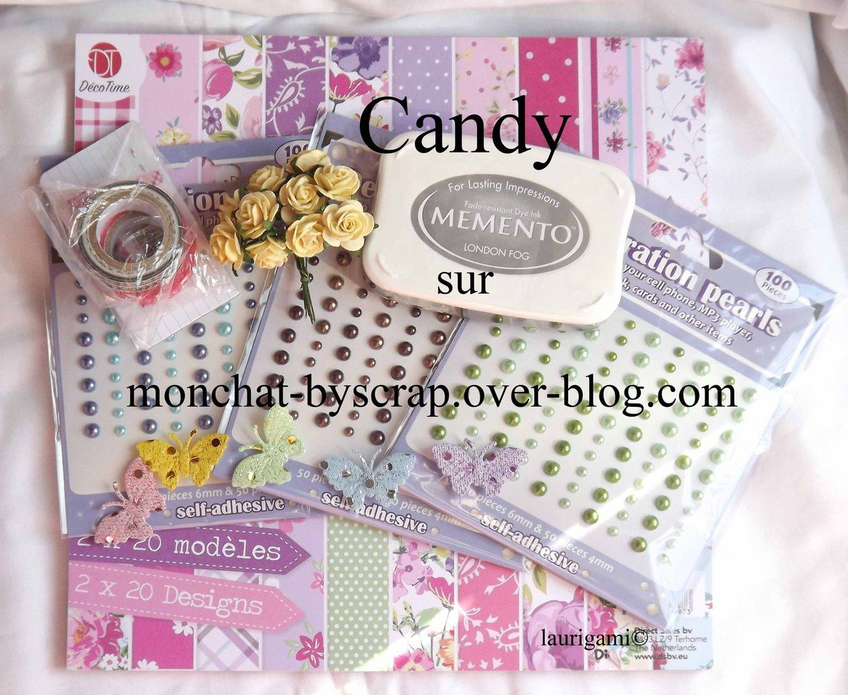 Blog candy chez Laurigami