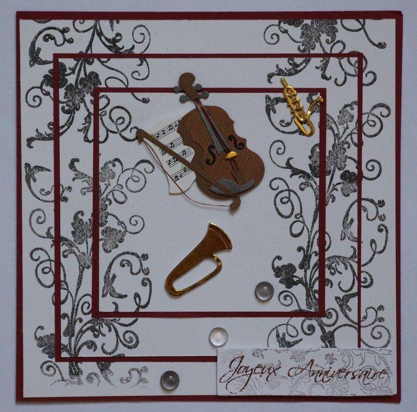 Carte musicienne