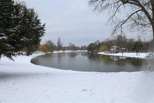 Le lac Daumesnil (13 mars 2013)