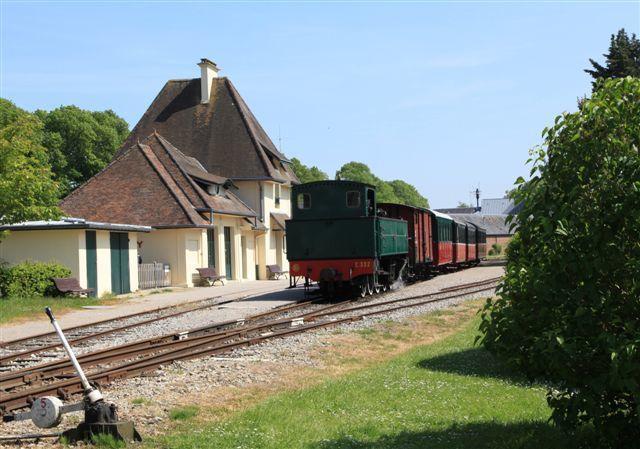 Manoeuvre de la 230 T Fives Lille n°E.232 à Saint-Valery sur Somme