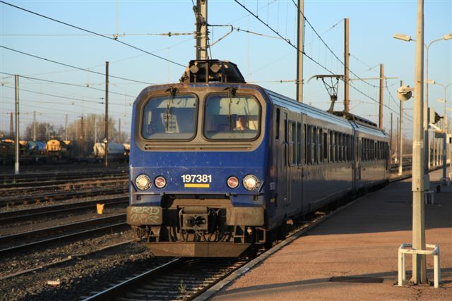 Narbonne : TER n°876214 Narbonne - Toulouse (8 mars)