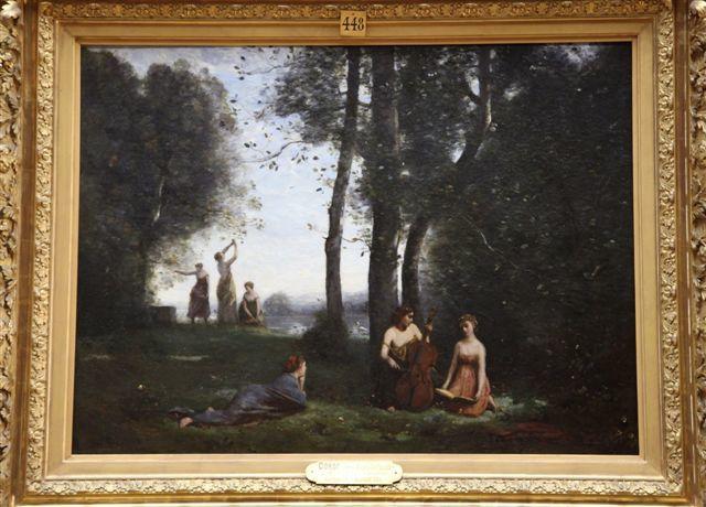 Le concert champêtre de Camille Corot