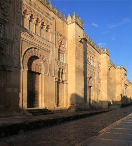 Cordoue : l'enceinte de la mezquita