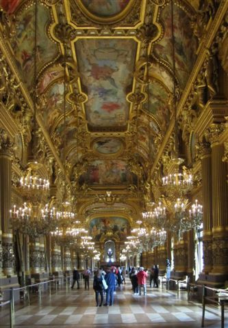 Le grand foyer opéra Garnier