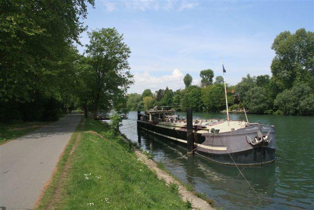 Champigny sur Marne : la piste cyclable