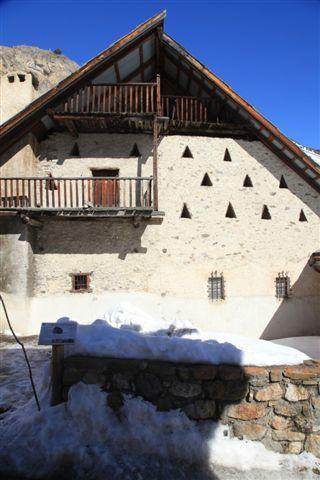 Maison traditionnelle à Névache