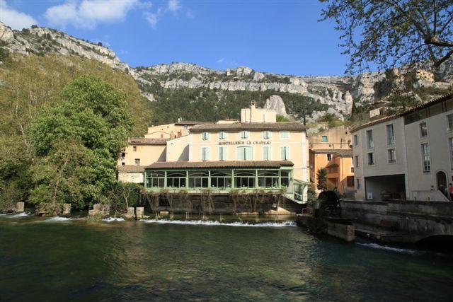 Au coeur du village de Fontaine de Vaucluse