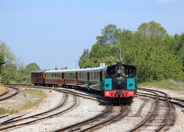 Le train à vapeur de la baie de Somme