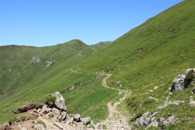 Le GR 400 suit le tracé de la voie romaine