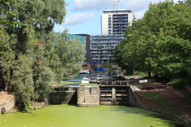 Une écluse sur Regent's canal