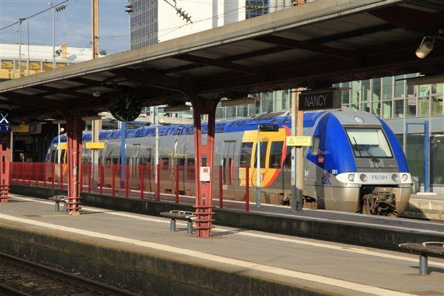 Gare de Nancy (lundi 7 décembre 2015)