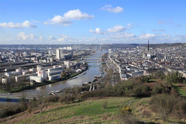 Visite de Rouen, une ville chargée d'histoire à une heure de Paris
