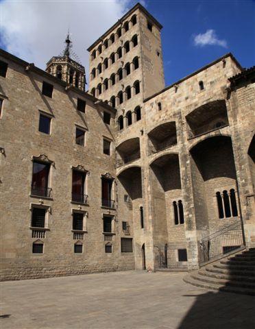 Place del Rei à Barcelone