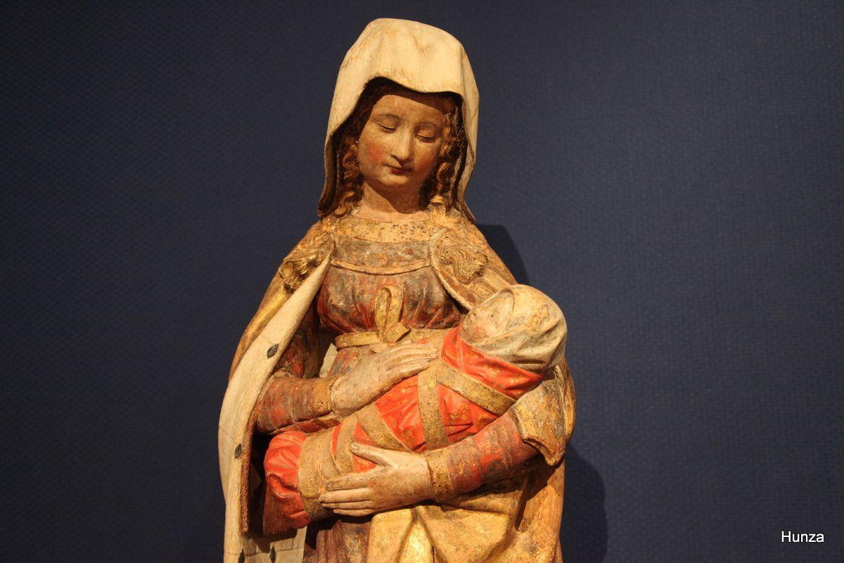 Musée Rolin : la Vierge d'Autun