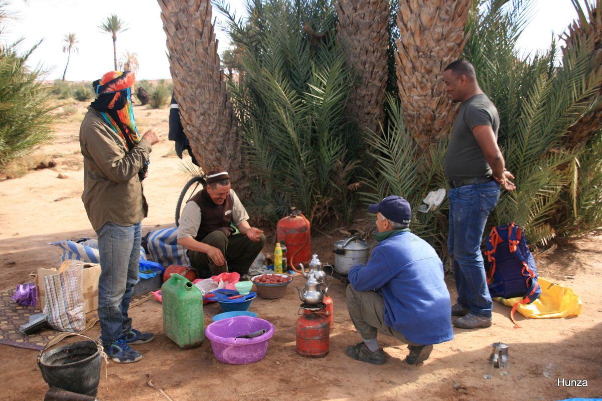 Trek dans les dunes de Merzouga et la palmeraie de Skoura au Maroc