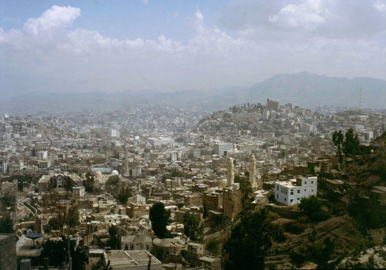 Taez vu du Djebel Saber