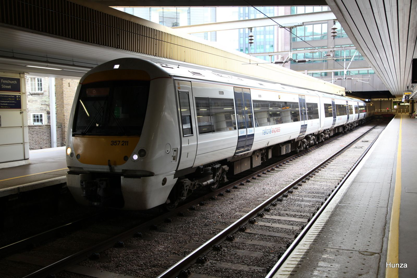 Class 357/2 n°357 211 à London Fenchurch Street railways station