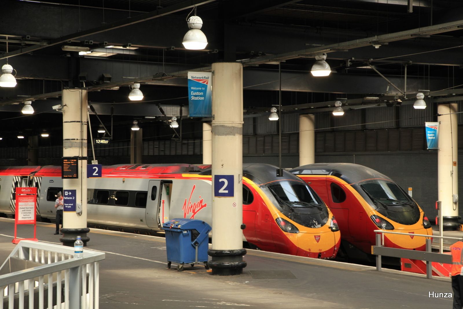 Automotrice électrique class 390 Pendolino à Euston