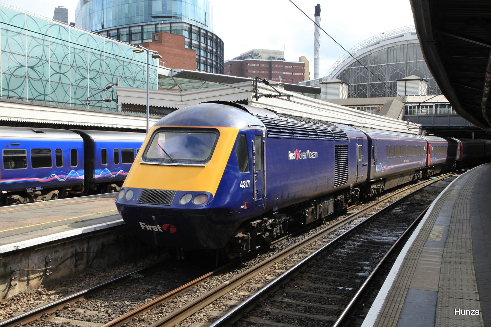 Rame Intercity 125 de la First Great Western en gare de London Paddington