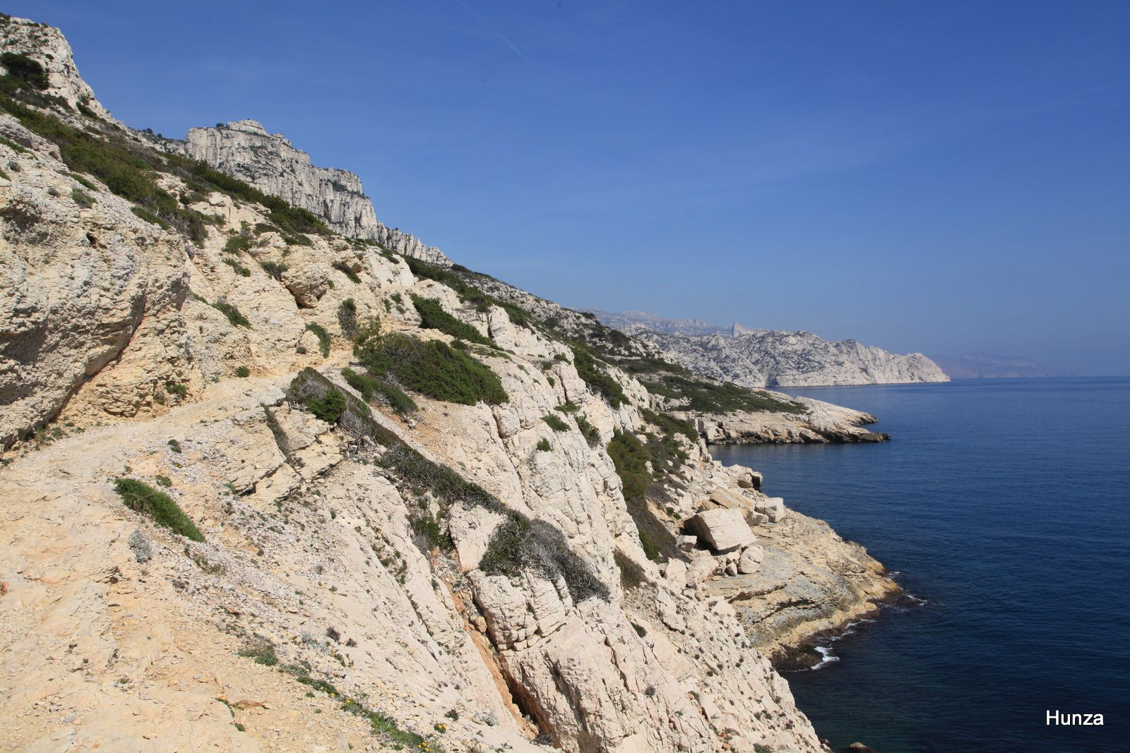 Entre les calanques de Marseilleveyre et Podestat
