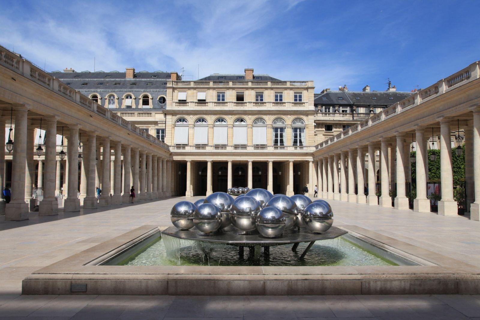 Fontaines, bassins et jets d'eau du 1er arrondissement de Paris