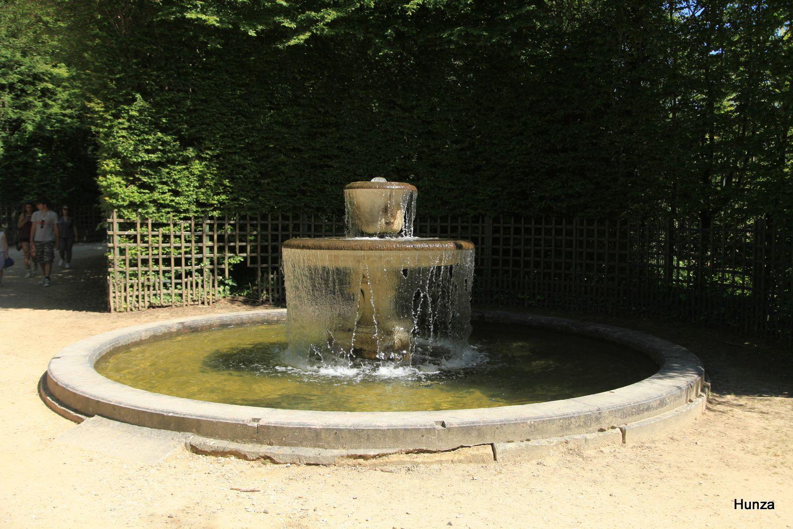 Fontaine de la salle des marronniers