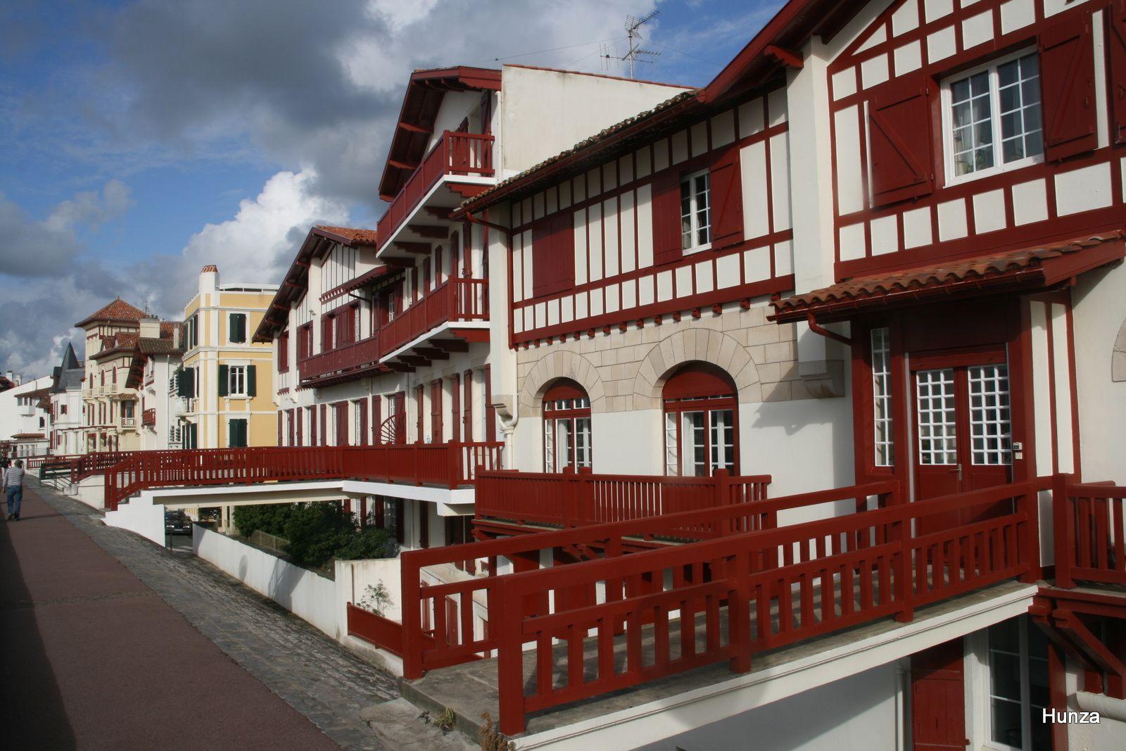 Maisons sur le front de mer