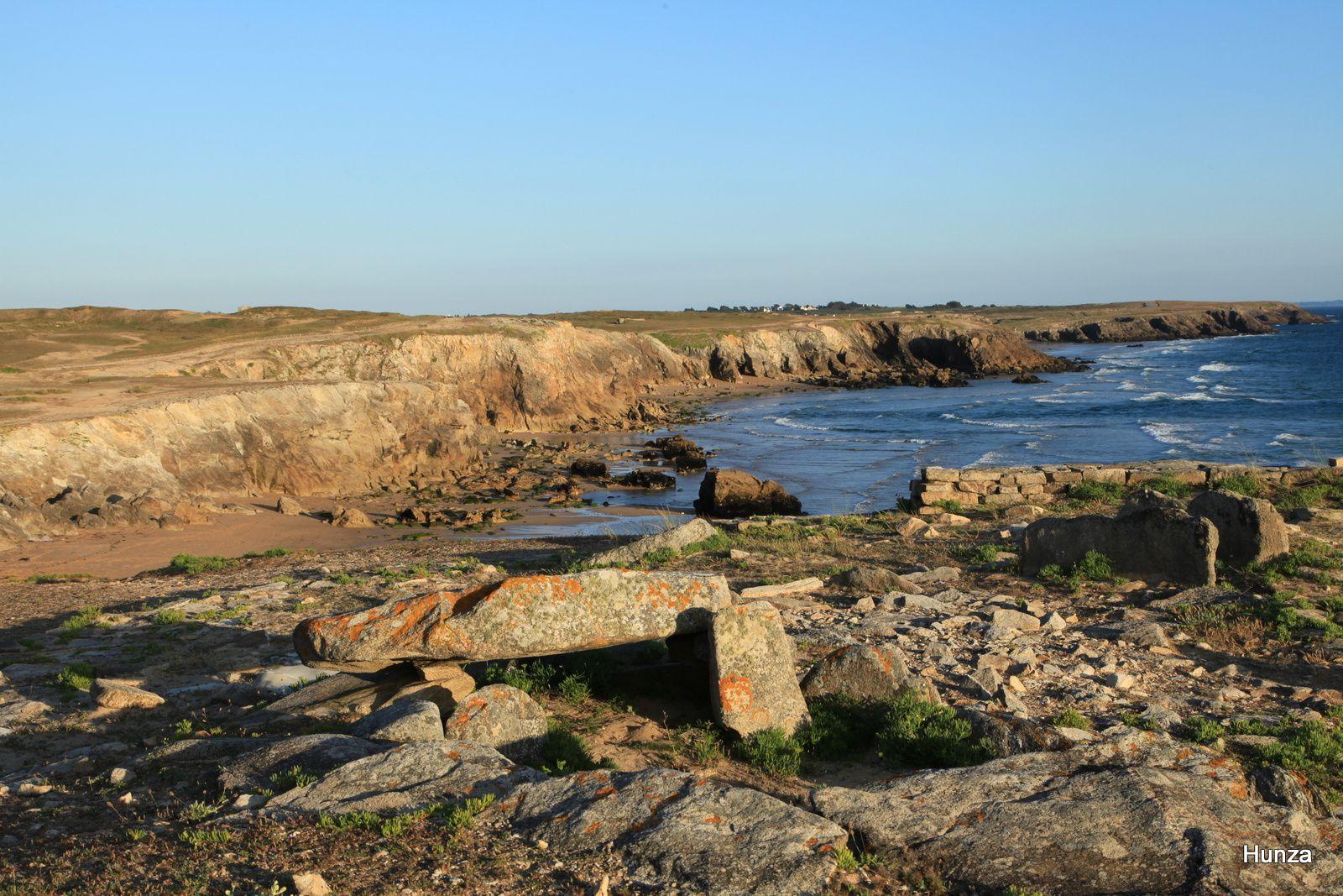 Le dolmen de Port Blanc
