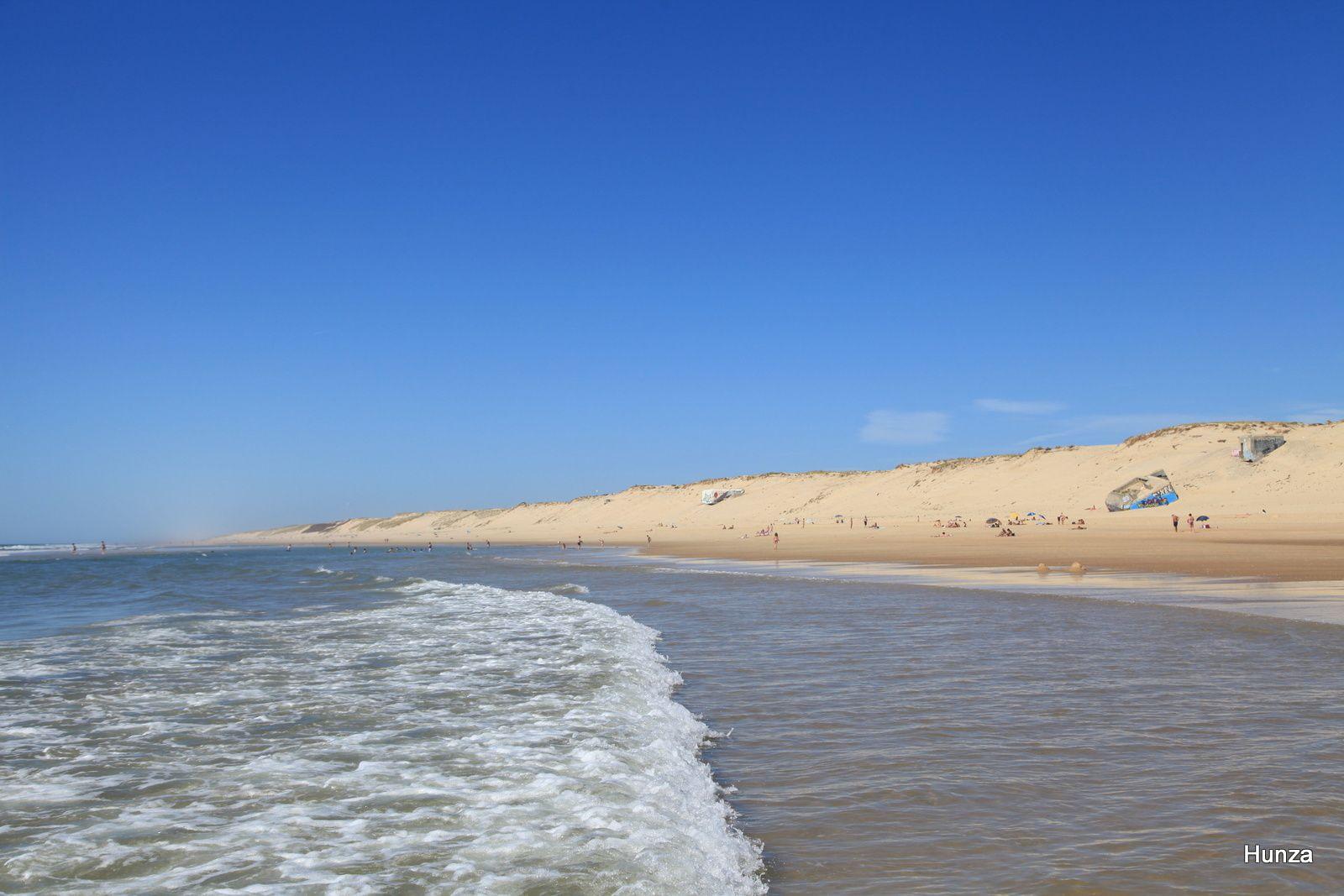 Vue prise depuis la plage de l'Horizon