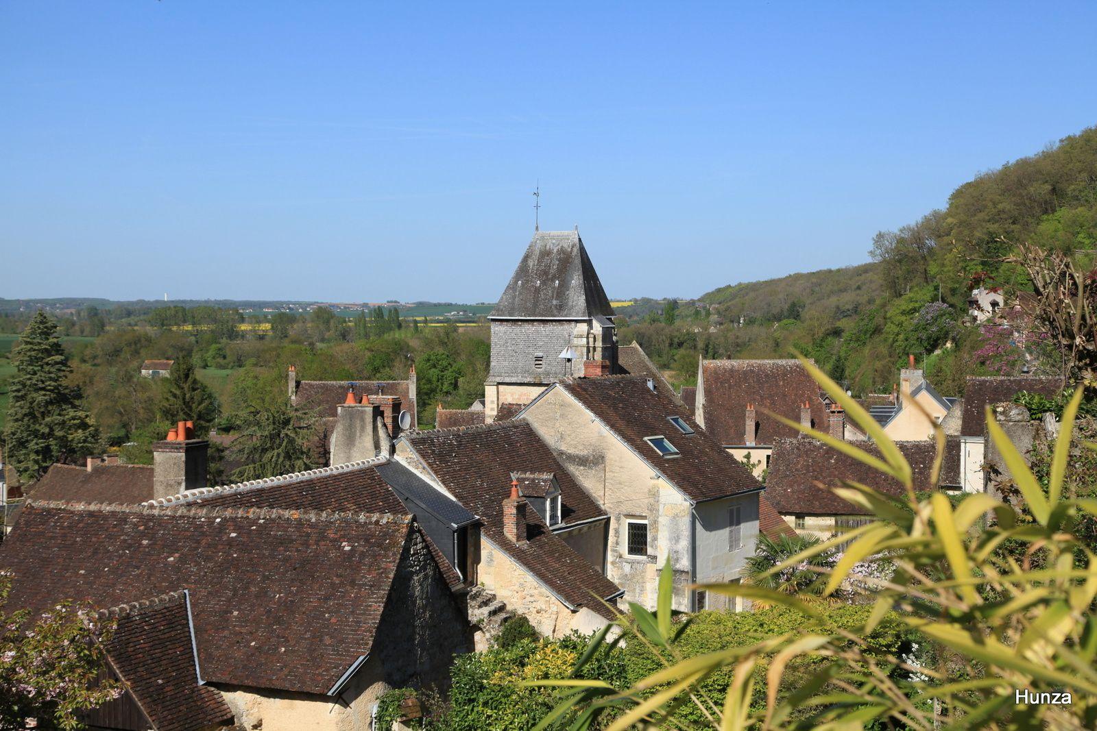 Randonnée à vélo dans la vallée du Loir, de Vendôme à Lavardin